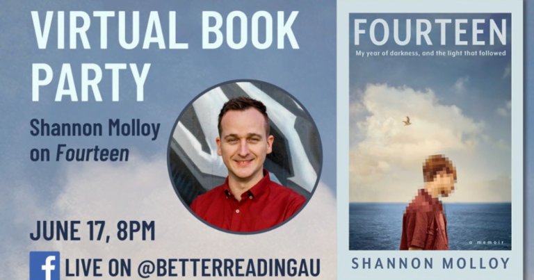 Book Chat with Shannon Molloy - Wednesday June 17, 8 – 8:30 PM