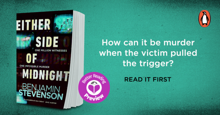 Your Preview Verdict: Either Side of Midnight by Benjamin Stevenson