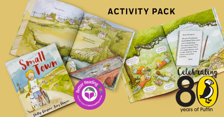 Join Milly's basketball team in Gong Gong with an awesome activity pack from Small Town by Phillip Gwynne and Tony Flowers