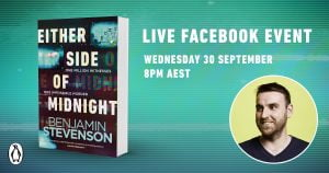 Live Book Event: Benjamin Stevenson, Author of Either Side of Midnight