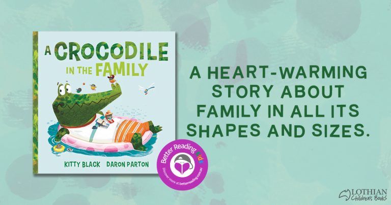 A book with a lot of heart: Check out our review for A Crocodile in the Family by Kitty Black and Daron Parton