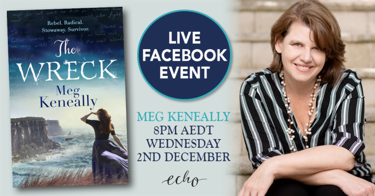 Live Book Event: Meg Keneally, Author of The Wreck