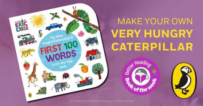 Cut and create: Make your own Very Hungry Caterpillar!