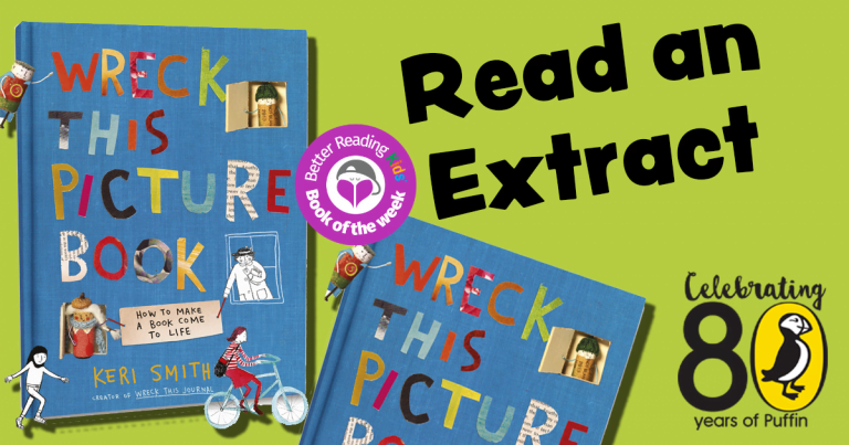 Immersive and imaginative: Read an extract from Wreck This Picture Book by Keri Smith