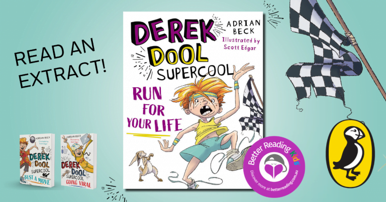 Cross-country cool: Read an extract from Derek Dool Supercool 3: Run For Your Life by Adrian Beck