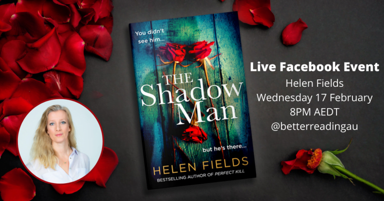 Live Book Event: Helen Fields, Author of The Shadow Man