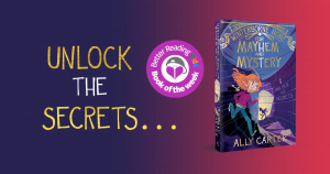 Twists, turns and reveals: Read our review of Winterborne Home for Mayhem and Mystery by Ally Carter