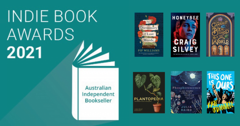 BOOK NEWS: Winners Announced for the Indie Book Awards 2021