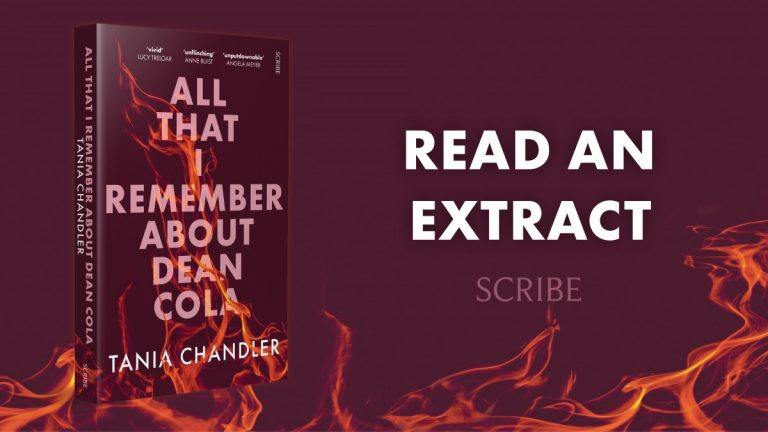 Unflinching Yet Hopeful: Read an Extract from All That I Remember About Dean Cola by Tania Chandler