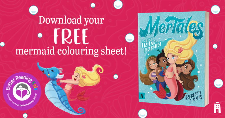 Mermazing Fun: Colouring Sheet from MerTales #1: The Best Friend Promise by Rebecca Timmis