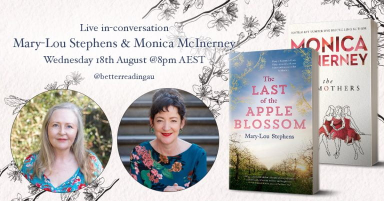 Live Book Event: Mary-Lou Stephens in Conversation with Monica McInerney