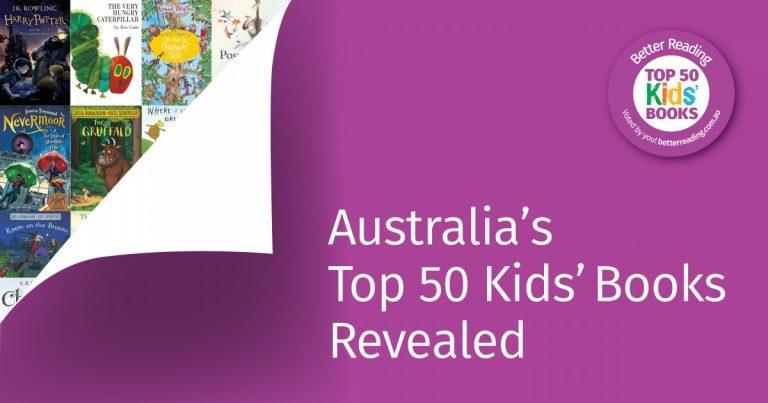 BREAKING NEWS: Announcing Better Reading's 2021 Top 50 Kids' Books!