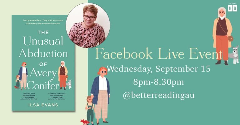 Live Book Event: Ilsa Evans, Author of The Unusual Abduction of Avery Conifer