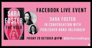 Live Book Event: Sara Foster in Conversation with Anna Valdinger